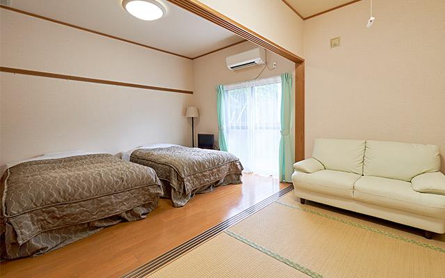 和室+洋室 ツインベッド